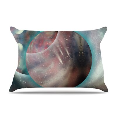 Infinite Spray Art Dimensions Planet Pillow Case