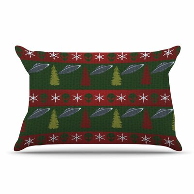 Alias Xmas Files Pillow Case