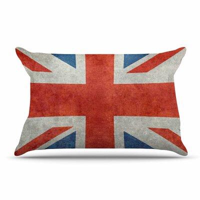 Bruce Stanfield Uk Union Jack Flag Pillow Case