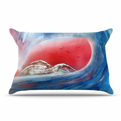 Infinite Spray Art Tubular Pillow Case