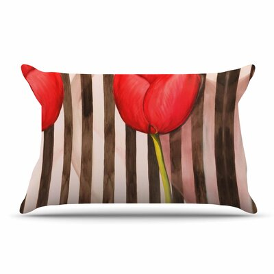 S Seema Z Classic Rose Stripes Pillow Case