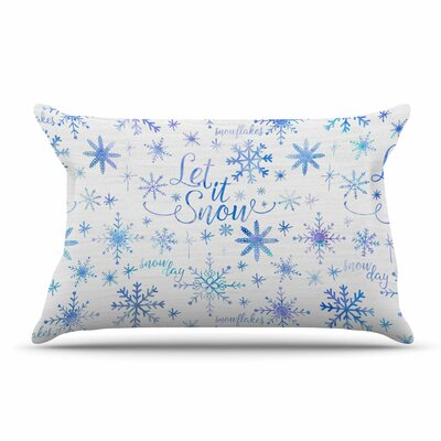 Noonday Design Let It Snow Winter Pillow Case