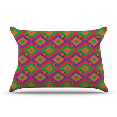 Empire Ruhl Super Stars Geometric Pillow Case