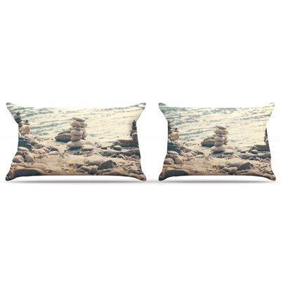 Catherine McDonald River Cairns Pillow Case