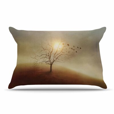 Viviana Gonzalez Lone Tree Love I Pillow Case