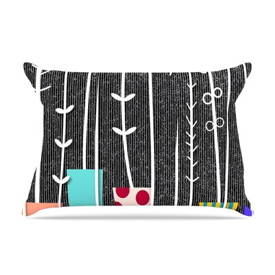 Danny Ivan 'Wild Plants' Pillow Case