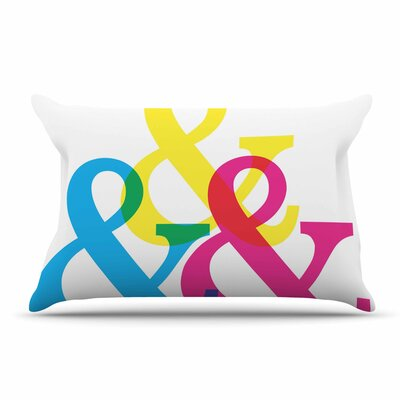 Jackie Rose Cymk Ampersands Pillow Case