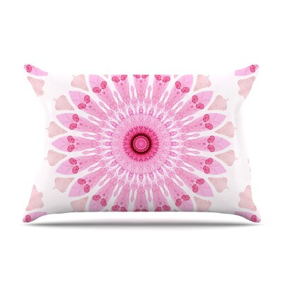 Iris Lehnhardt Flower Power Abstract Pillow Case