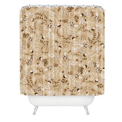 Jennifer Denty Autumn Forest Shower Curtain