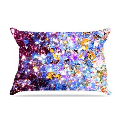 Ebi Emporium Midnight Serenade Pillow Case Color: Blue/Purple