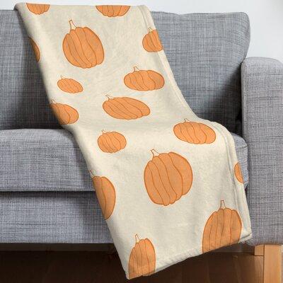 Pumpkins Throw Blanket