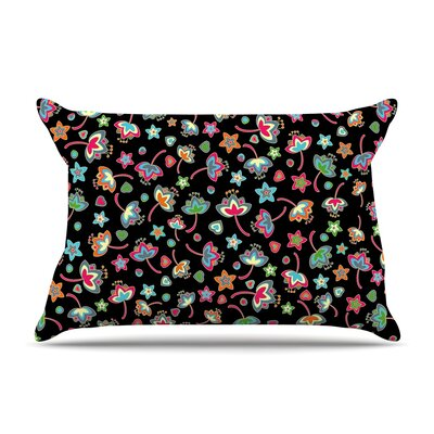 Julia Grifol Sweet Flowers Pillow Case
