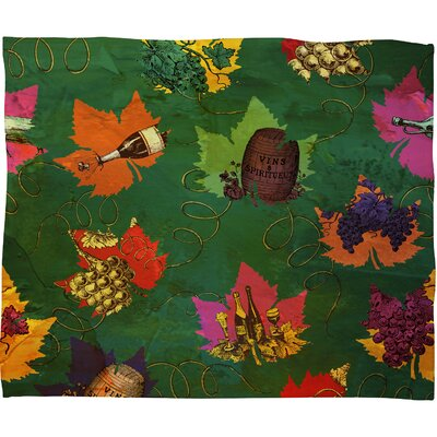 Celebrating Autumn Pattern Throw Blanket