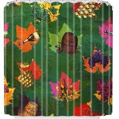 Celebrating Autumn Pattern Shower Curtain