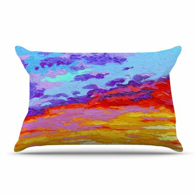 Jeff Ferst Dancing Clouds Sunset Pillow Case