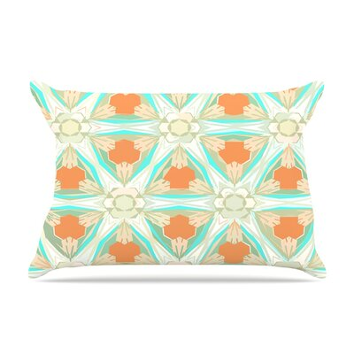 Alison Coxon Moorish Earth Pillow Case Color: Orange/White