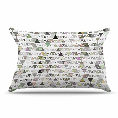 Angelo Cerantola Triangulation Geometric Pillow Case