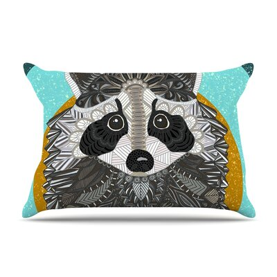 Art Love Passion Racoon In Grass Pillow Case