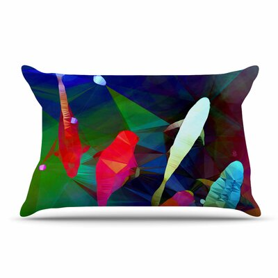 AlyZen Moonshadow Fish 2 Pillow Case