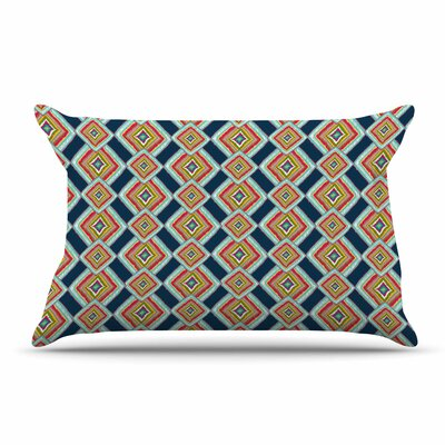 Amy Reber Ikat Abstract Pillow Case