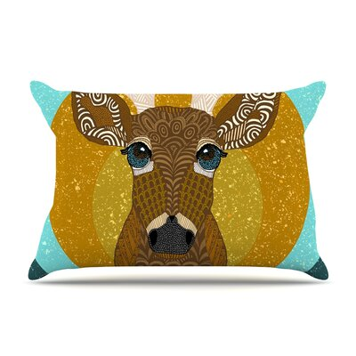 Art Love Passion Stag In Grass Pillow Case