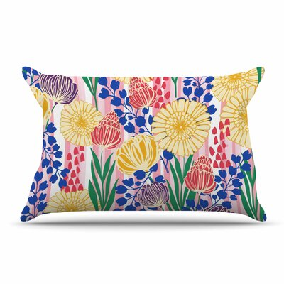 Amy Reber Pretty Bouquet Floral Pillow Case