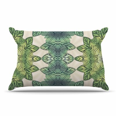 Art Love Passion Forest Leaves Celtic Abstract Pillow Case