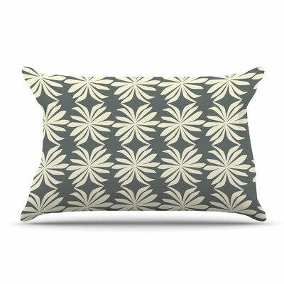 Amy Reber White Palm Pillow Case