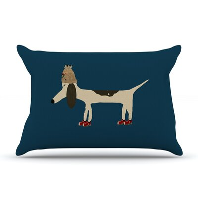 Bri Buckley Chien Pillow Case