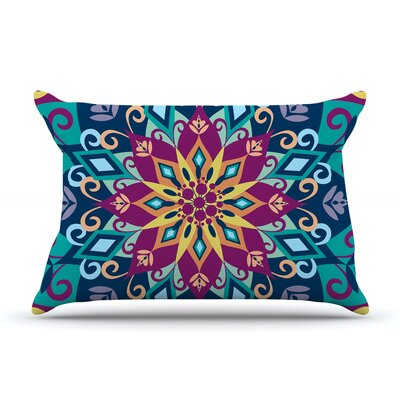 Amanda Lane Blooming Mandala Pillow Case