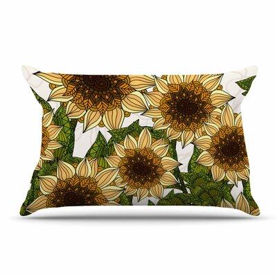 Art Love Passion Sunflower Field Pillow Case