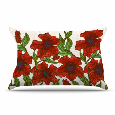 Art Love Passion Poppy Field Pillow Case