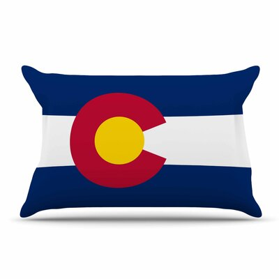 Bruce Stanfield Colorado State Flag Pillow Case