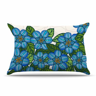 Art Love Passion Flower Field Pillow Case