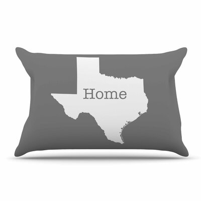 Bruce Stanfield 'Texas Is Home' Pillow Case