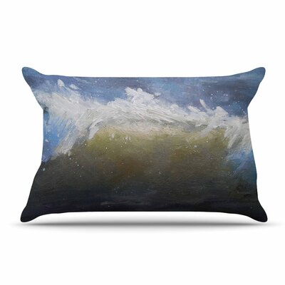 Carol Schiff The Curl Painting Pillow Case