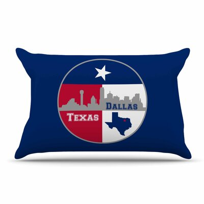 Bruce Stanfield Dallas Texas Pillow Case