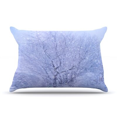 Alison Coxon Winter Tree Lilac Pillow Case