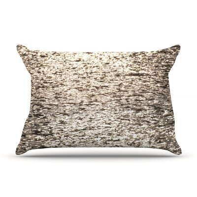 Catherine McDonald Golden Hour Water Reflection Pillow Case