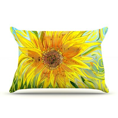 Catherine Holcombe Sunflower Symphony Pillow Case