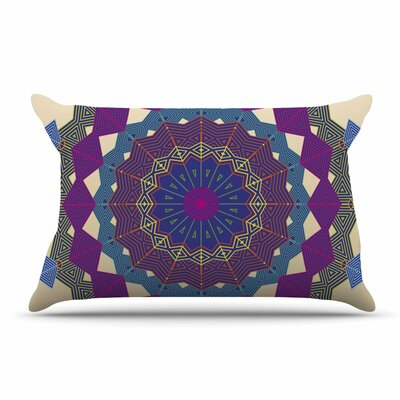 Angelo Cerantola Composition Pillow Case Color: Lavender/Beige