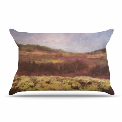 Cyndi Steen Field Of Yellow Pillow Case