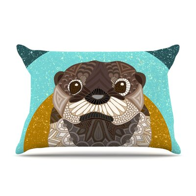 Art Love Passion Otter In Water Pillow Case
