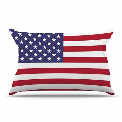 Bruce Stanfield Flag Of Usa Contemporary Digital Pillow Case