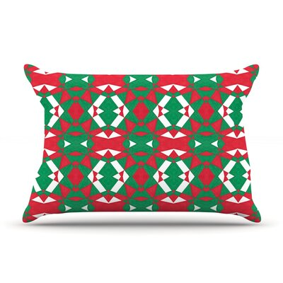 Empire Ruhl Christmas Geo Pillow Case