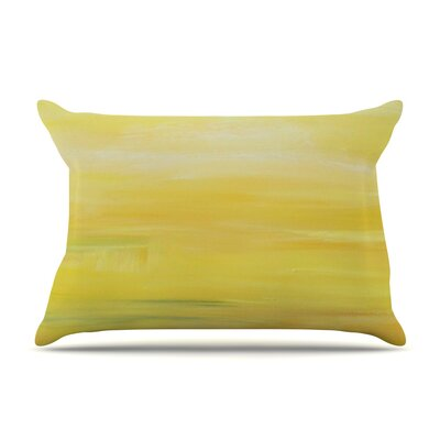 Cathy Rodgers Yellow Sunrise Pillow Case