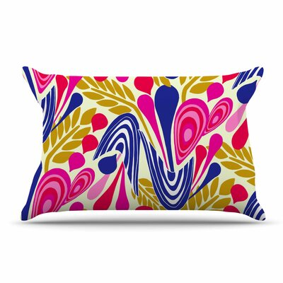 Amy Reber Abstract Bouquet Pillow Case