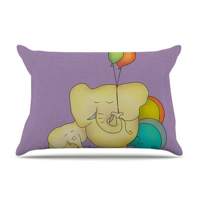 Carina Povarchik 'Party Time' Pillow Case