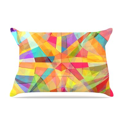 Danny Ivan Star Geometric Pillow Case