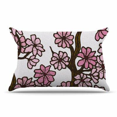 Art Love Passion Cherry Blossoms Pillow Case